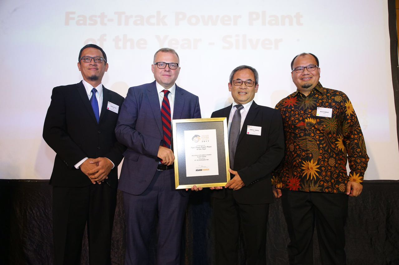 PTPP Raih Asian Power Award 2017