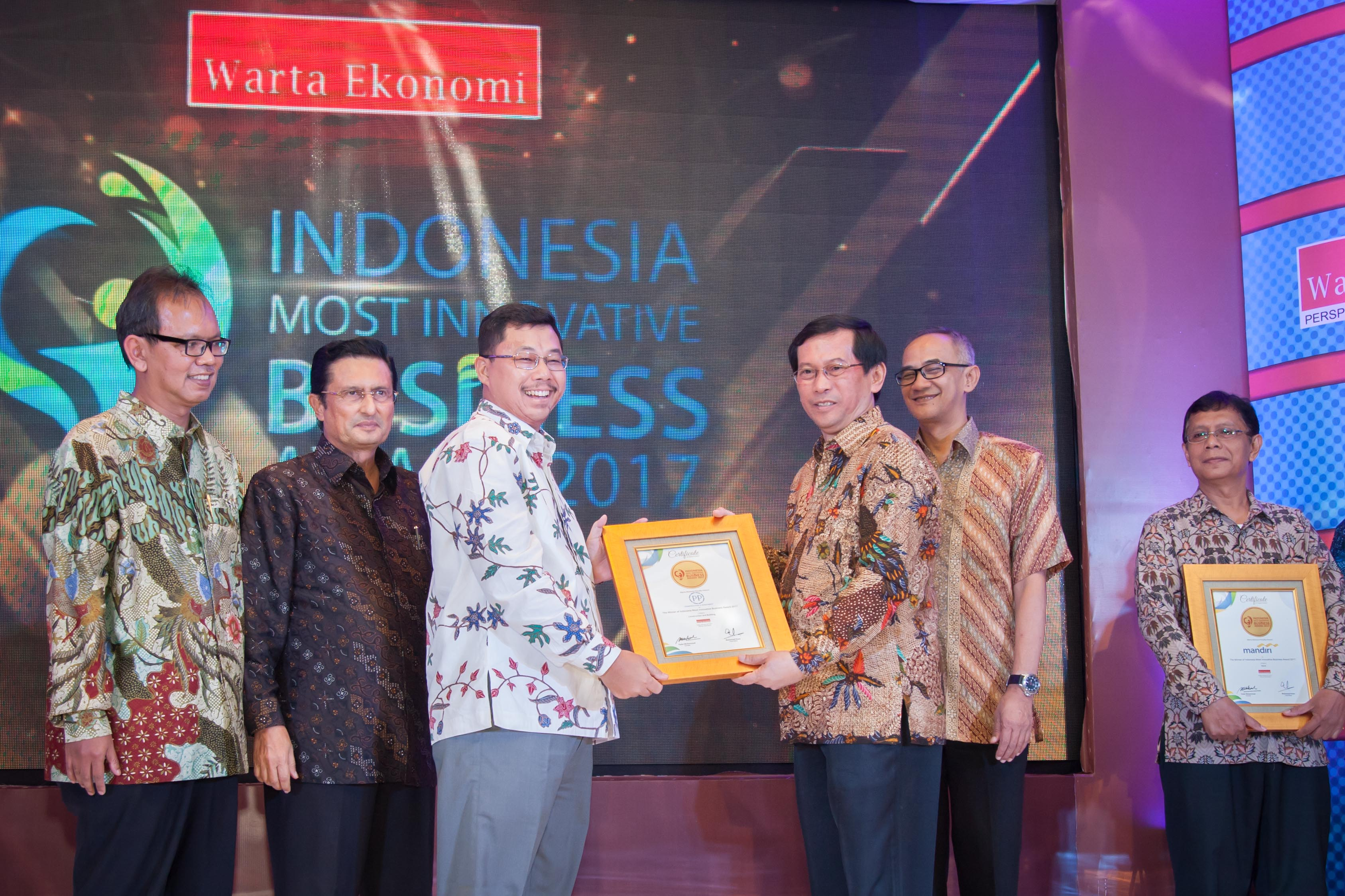 PTPP Raih Indonesia Most Innovative Business Awards 2017