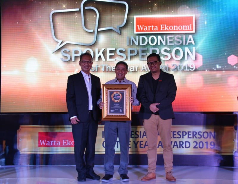 PTPP Raih Indonesia Spokesperson of The Year Award 2019